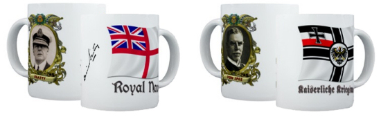 Famous Admirals Coffee Mugs