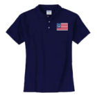 Bennington Flag Polo Shirt