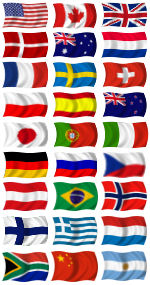 Home Countries of SEAWARSTORE Customers