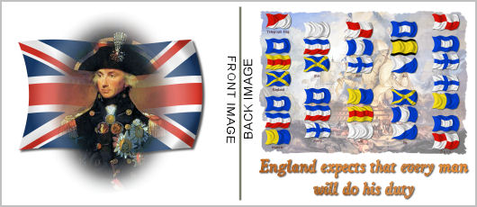 Admiral Nelson England Expects Shirt