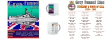 Grey Funnel Line Mug