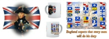 Admiral Nelson England Expects Mug