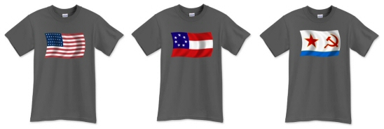 Navy Gray Naval Flag Shirts