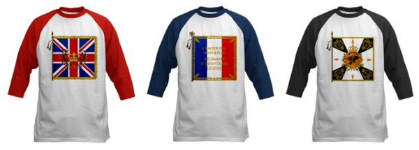 New Napoleonic Regimental Flag Shirts