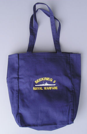 SEEKRIEG 5 Embroidered Tote Bag