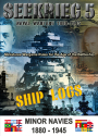 Seekrieg 5 Minor Navies Ship Log CD Sets