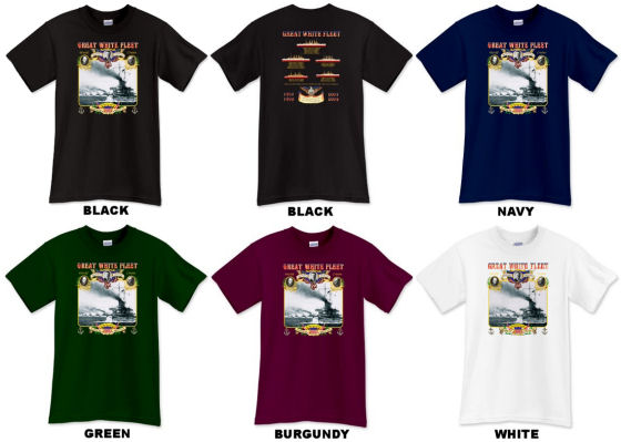 Great White Fleet Shirts
